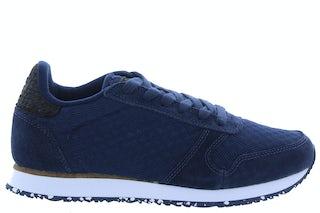 Woden Ydun suede mesh II 010 navy Damesschoenen Sneakers