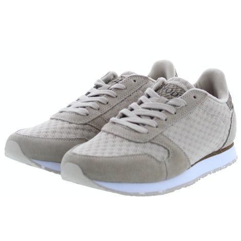 Woden Ydun suede mesh II 055 clouds Damesschoenen Sneakers