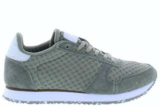 Woden Ydun suede mesh II 634 vetiver Damesschoenen Sneakers