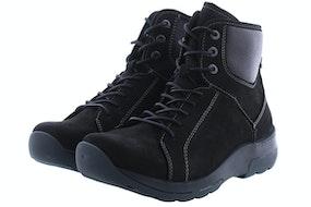 Wolky Ambient 0302611 001 black Damesschoenen Booties