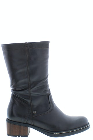 Wolky Edmonton 0126130 305 dark brown Damesschoenen Laarzen