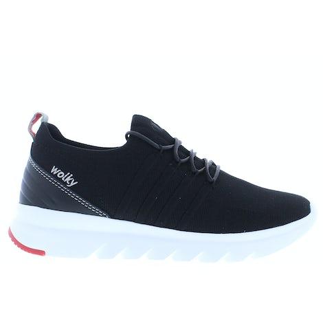 Wolky Mako 3-D knitting 0212590 000 black Sneakers Sneakers