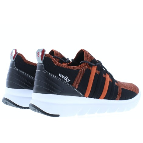 Wolky Mako 3-D knitting 0212590 999 brick Sneakers Sneakers