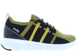 Wolky Mako 3-D knitting 0212590 999 ochre Damesschoenen Sneakers