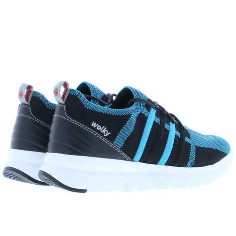 Wolky Mako 3-D knitting 0212590 760 turquoise Sneakers Sneakers