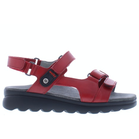 Wolky Mile vegi 0152550 500 red Sandalen Sandalen