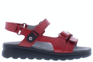 Wolky Mile vegi 0152550 500 red Damesschoenen Sandalen