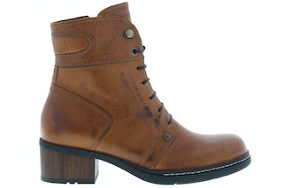Wolky Red deer 0126030 430 cognac Damesschoenen Booties