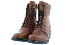 Wolky Red deer 0126030 430 cognac Damesschoenen Booties