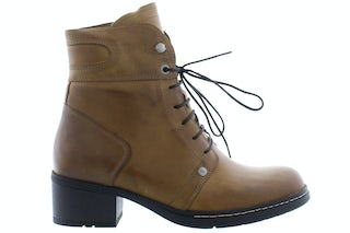 Wolky Red deer 0126030 925 dark oker Damesschoenen Booties