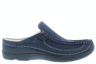 Wolky Roll slide 0620213 800 blue Damesschoenen Slippers