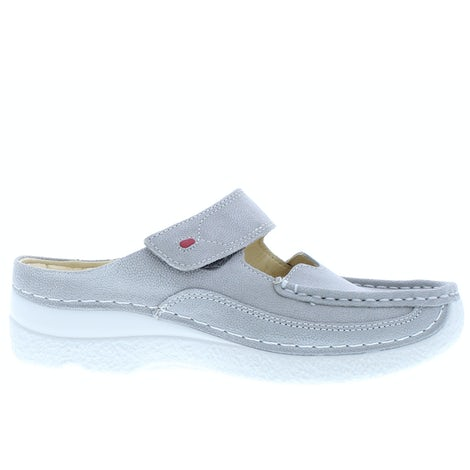 Wolky Roll slipper 0622715 206 light grey Slippers Slippers