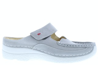 Wolky Roll slipper 0622715 206 light grey Damesschoenen Slippers