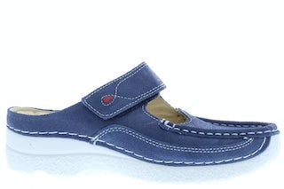 Wolky Roll slipper 0622715 820 denim Damesschoenen Slippers