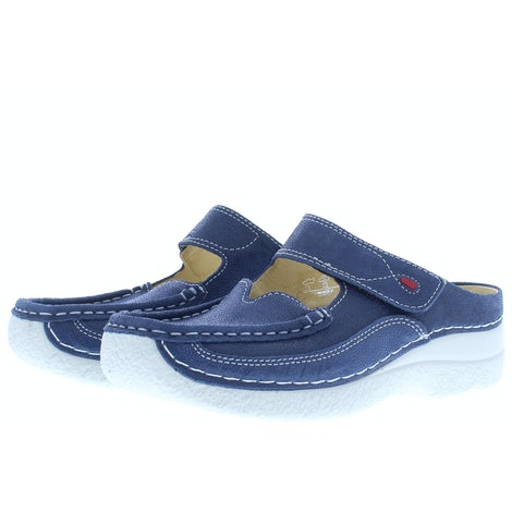 Wolky Roll slipper 0622715 820 denim Pantoffels Pantoffels