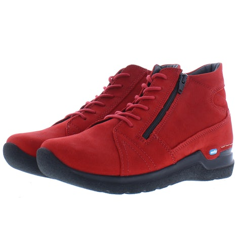 Wolky Why 0660611 505 dark red Booties Booties