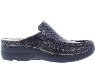 Wolky Roll slide 0620292 305 dark brown Damesschoenen Slippers