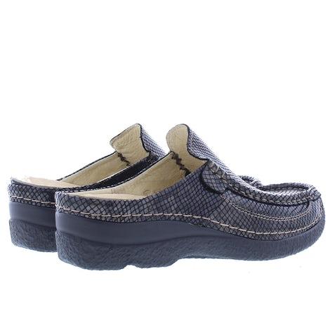 Wolky Roll slide 0620292 305 dark brown Slippers Slippers