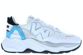 Womsh Futura 211116 white multi 4 Damesschoenen Sneakers