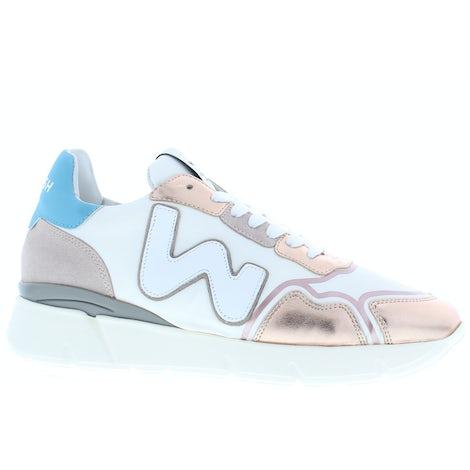 Womsh Runny 211415 white metallic Sneakers Sneakers