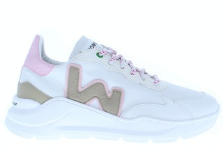 Womsh Vegan Wave 211821 white snoopy Damesschoenen Sneakers