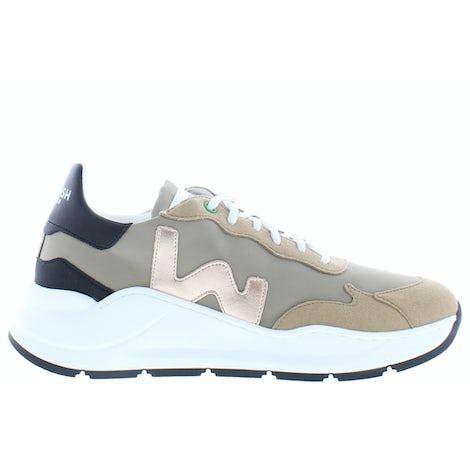 Womsh Vegan wave WA004 golden beige Sneakers Sneakers