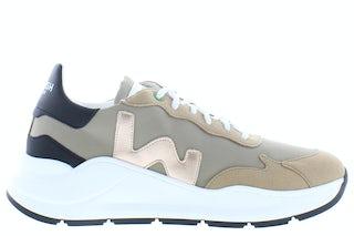 Womsh Vegan wave WA004 golden beige Damesschoenen Sneakers