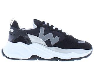 Womsh vegan Futura FU004 glitter ink Damesschoenen Sneakers