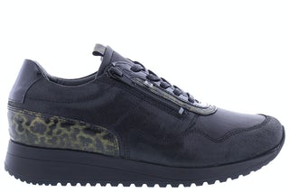 Xsensible Annabel 10191.3.001 black Damesschoenen Veterschoenen
