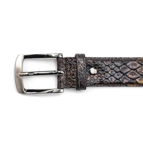 Rehab Belt snake fantasy 4000 brown Herenschoenen Riemen