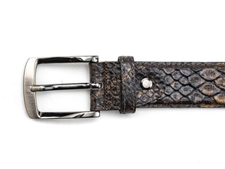 Rehab Belt snake fantasy 4000 brown Herenschoenen Riemen