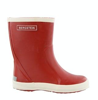Bergstein Rainboot red Jongensschoenen Laarzen