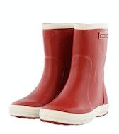 Bergstein Rainboot red Jongensschoenen Booties en laarzen