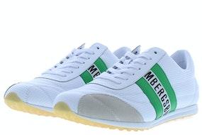 Bikkembergs Barthel white green Herenschoenen Sneakers