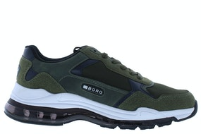 Bjorn Borg X510 olive Herenschoenen Sneakers