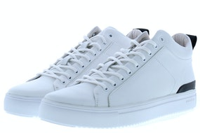 Blackstone RM14 white Herenschoenen Sneakers