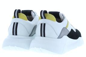 Blackstone TG43 white Herenschoenen Sneakers