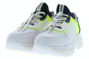 Bronx Baisley off white yellow Damesschoenen Sneakers
