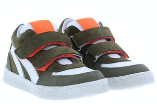 Clic 20184 kaki Jongensschoenen Klittebandschoenen