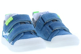 Develab 41357 623 blue Jongensschoenen Klittebandschoenen