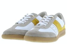 DL Sport 4610 velour ivory Damesschoenen Sneakers