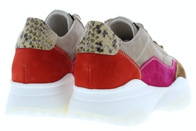 DL Sport 4647 bark combi Damesschoenen Sneakers