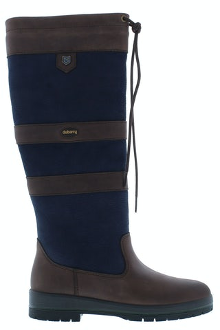 Dubarry Galway 32 navy/brown Damesschoenen Laarzen
