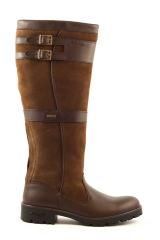 Dubarry longford walnut donkerbruin leer 162210515 01
