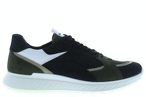 Ecco 836234 51865 black fore Herenschoenen Sneakers