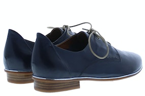 Everybody 23506 blue Damesschoenen Veterschoenen