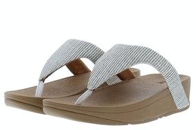 Fit Flop Lottie glitter stripe 031 stone Damesschoenen Slippers