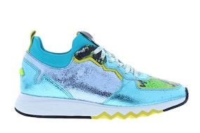 Floris 85309/08 turquoise metal Damesschoenen Sneakers