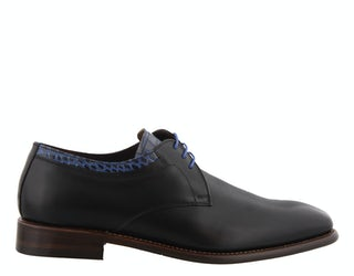 Floris 14302 02 black Herenschoenen Veterschoenen
