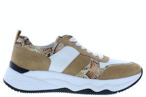 Gabor 43.490.53 weiss caramel Damesschoenen Sneakers